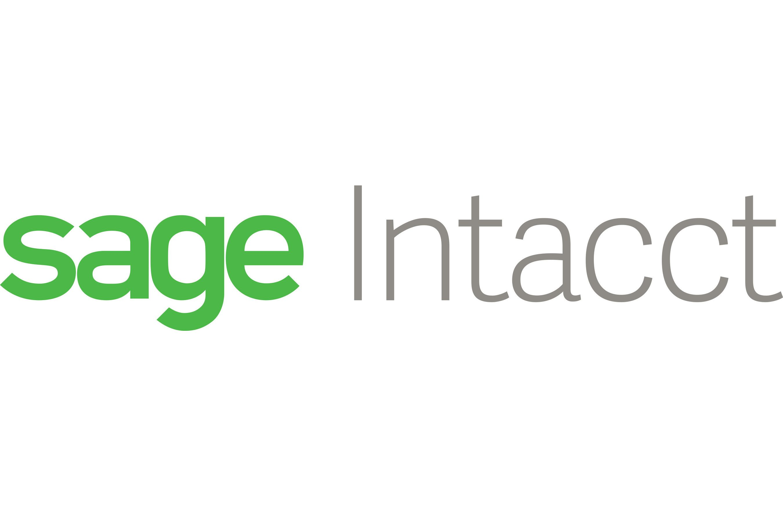 Sage Intacct Accounting Services
